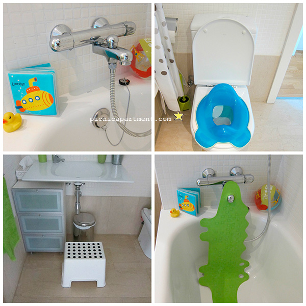 Adaptador Baño Ninos:In the kitchen you'll find everything you could need for the eating